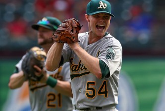 Oakland Athletics v Texas Rangers